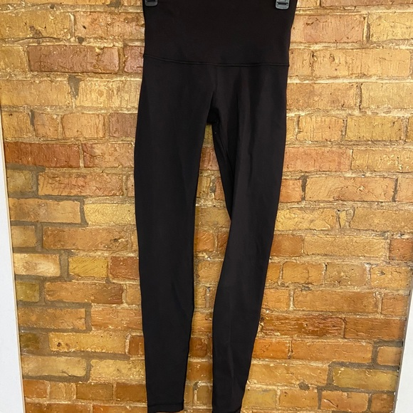 Size 6 high waisted black lulus